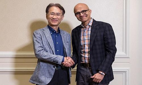 Microsoft - Sony