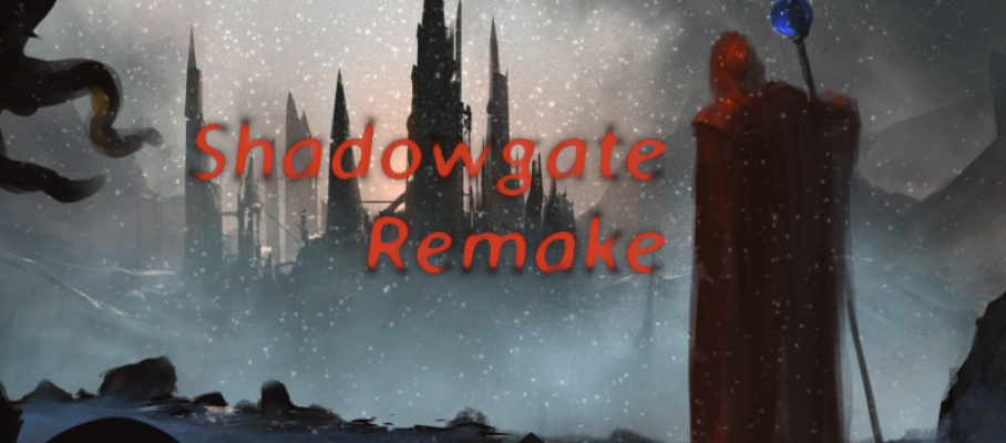 Shadowgate Remake banner title