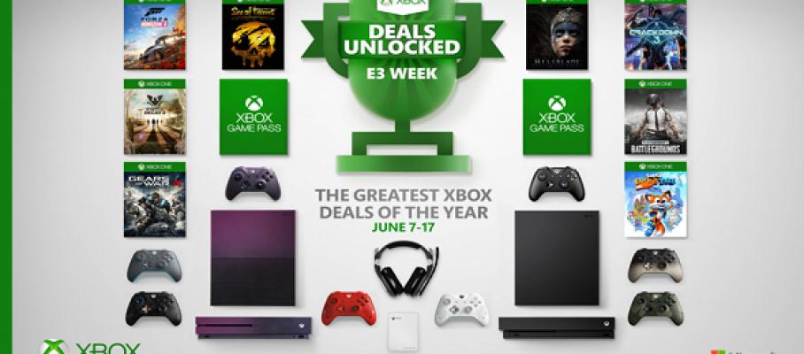 E3 2019 - 10 jours d'aubaines Xbox