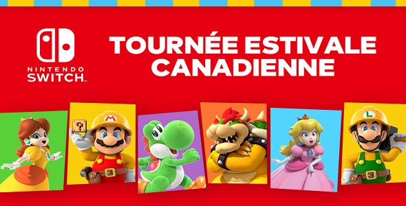 Tournée Estivale Nintendo Switch