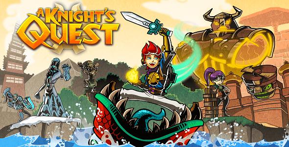 (Test FG – Jeux vidéo) A Knight's Quest #1