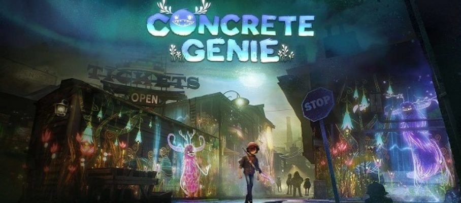 (Test FG) Concrete Genie #1
