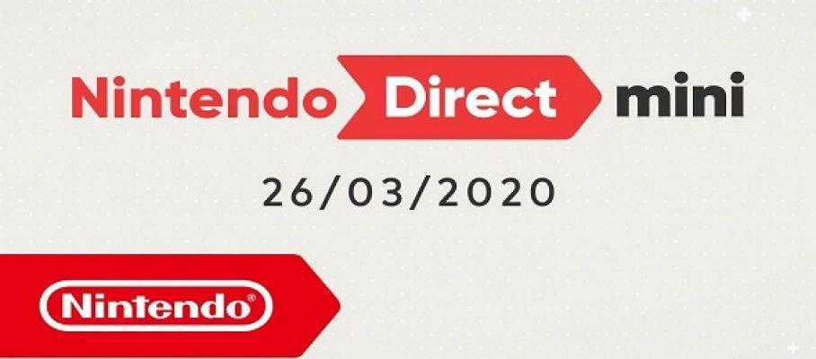 Nintendo Direct - 26 mars 2020