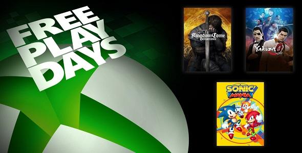 Xbox One - FreePlayDays - 01 -03 mai