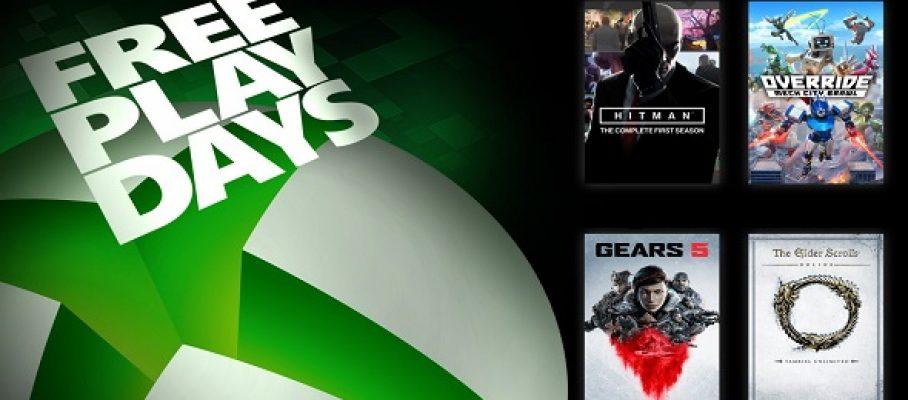 Xbox One - FreePlayDays -10-12 avril