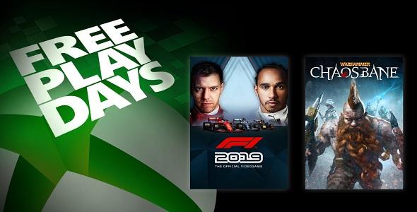 Xbox One - FreePlayDays -17-19 avril