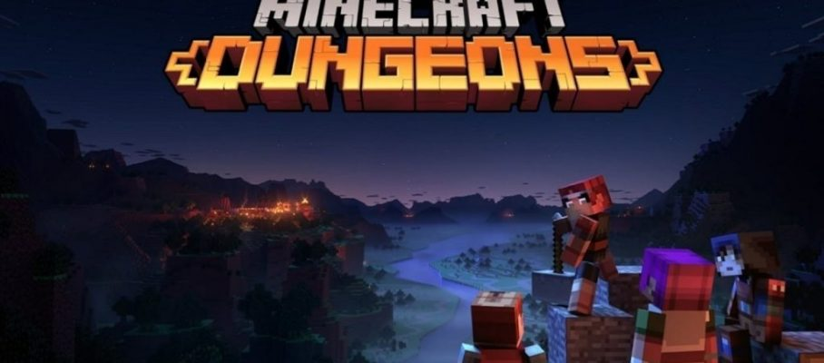 minecraft dungeons banner