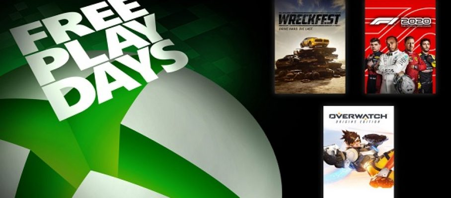 Xbox One - FreePlayDays -21-23 août
