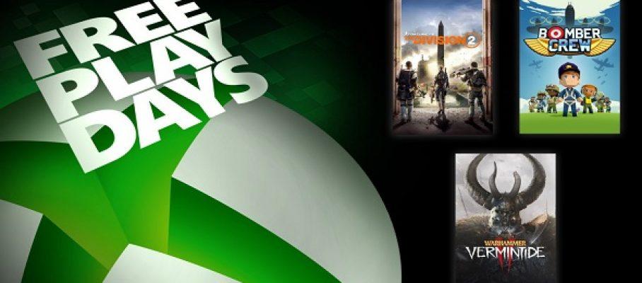 Xbox One - FreePlayDays - 25-27 septembre