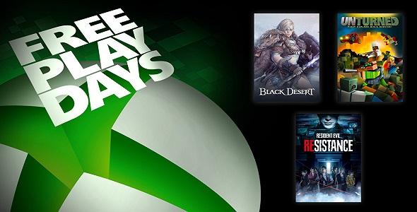 Free Play Days (17 au 20 décembre 2020)