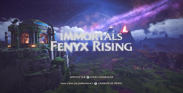 (Test FG) Immortals Fenix Rising #1
