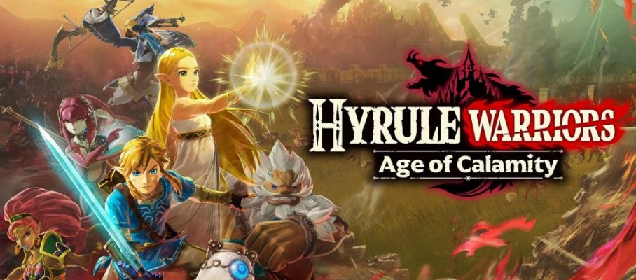 hyrule warriors age of calamity switch hero