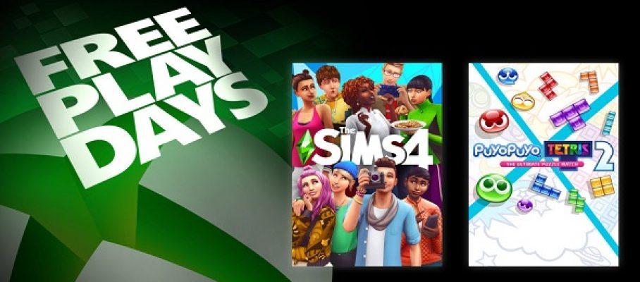 Free Play Days (04 au 07 février 2021)