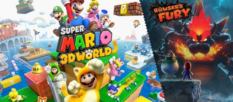 (Test FG) Super Mario 3D World - Bowser's Fury #1