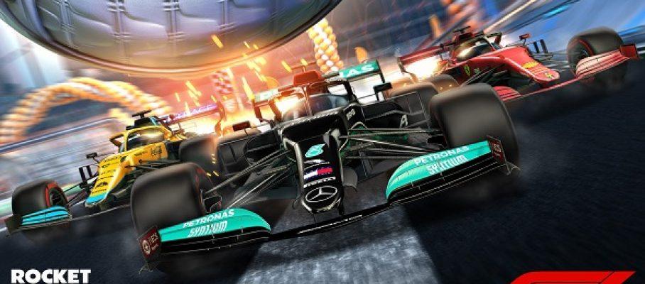 La F1 roule dans Rocket League