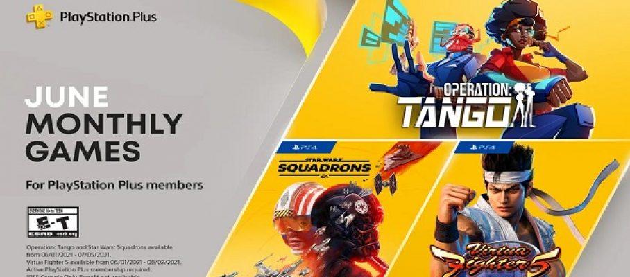 PS Plus – jeux gratuits du mois - le programme de juin 2021