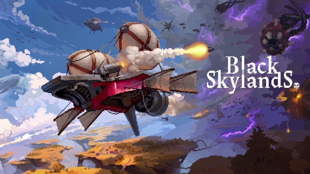 black skyland banner