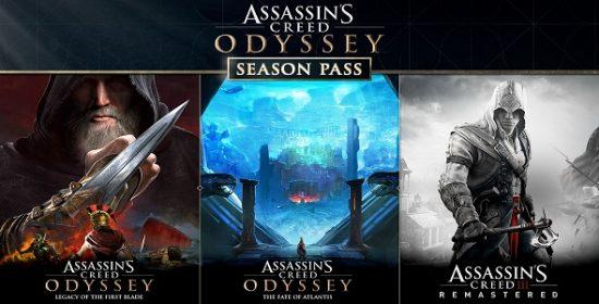 Assassin's Creed Odyssey - passe de saison