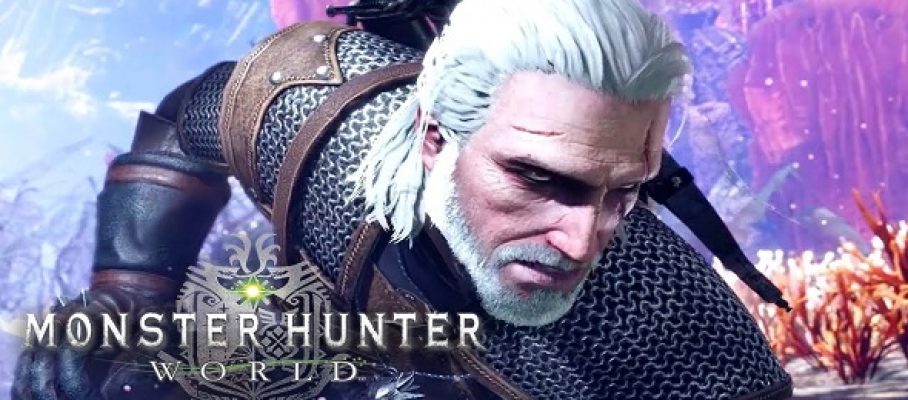 Monster Hunter World - Geralt De Riv