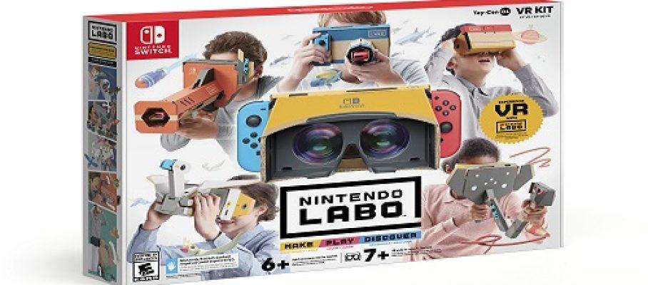 Nintendo Labo_ensemble complet