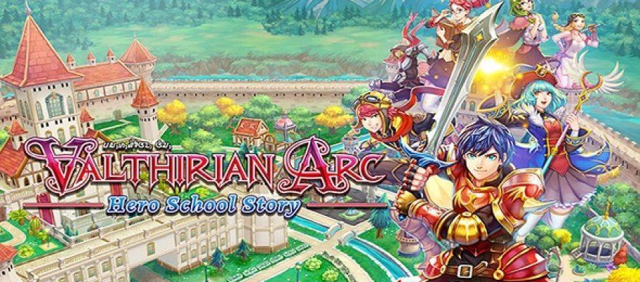 (Test FG) Valthirian Arc - Hero School Story #1