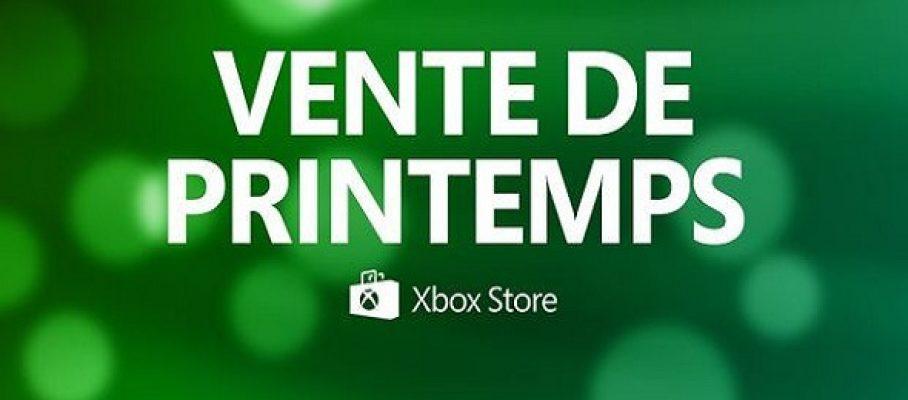Xbox Store- Vente du printemps 2019