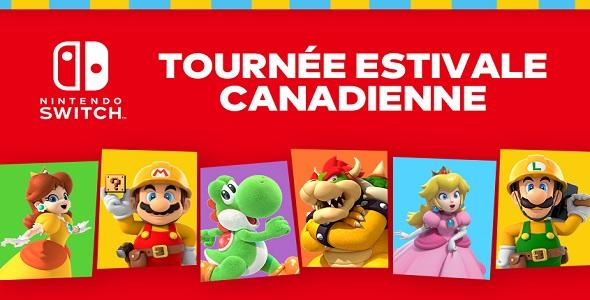 Tournée Estivale Nintendo Switch