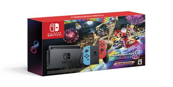 L'ensemble Nintendo Switch - Mario Kart 8 Deluxe