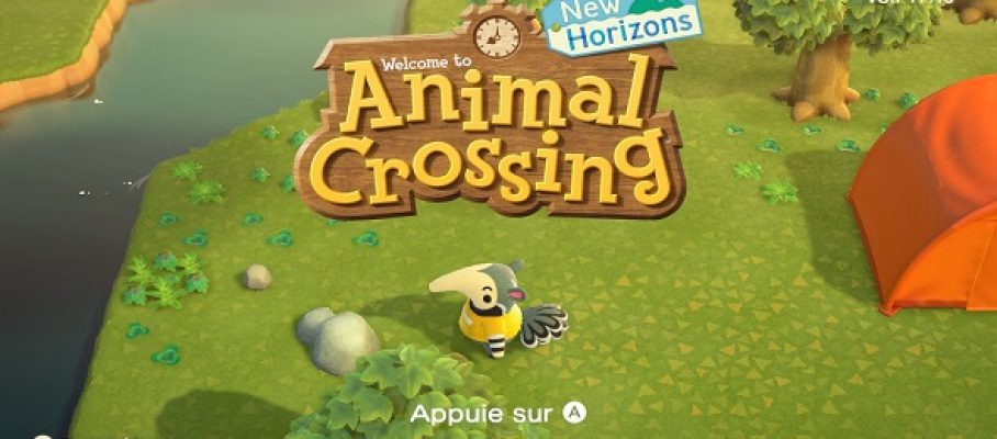 (Test FG) Animal Crossing - New Horizons #1