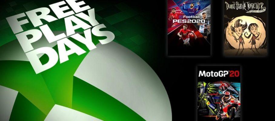 Xbox One - FreePlayDays (19-21 juin)