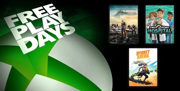 Free Play Days - 31 juillet au 02 août