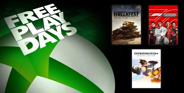 Xbox One - FreePlayDays -21-23 août