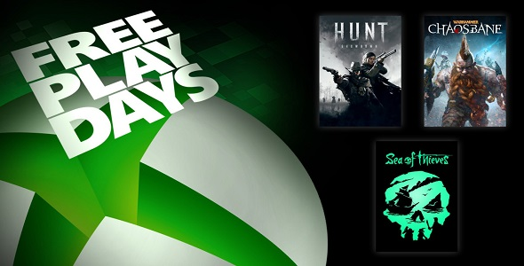 Xbox One - Free Play Days (18-20 septembre)