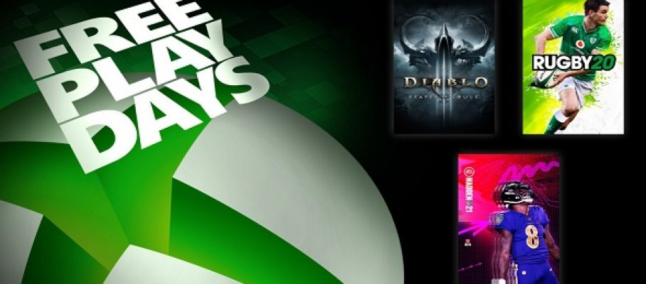 Xbox One - FreePlayDays -11-13 septembre