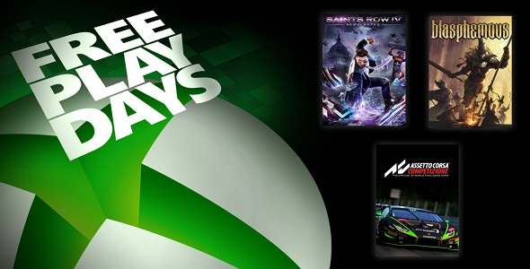 Free Play Days (09 au 11 octobre 2020)