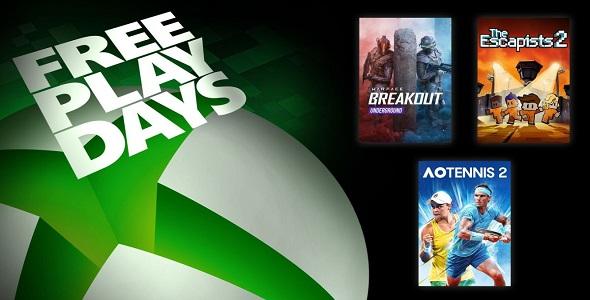 Free Play Days (16 au 18 octobre 2020)
