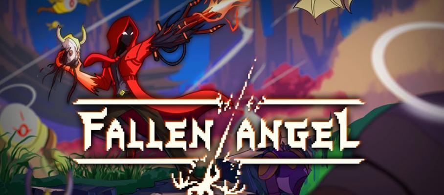 banner falle angel