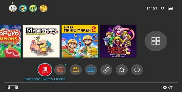 Nintendo Switch - MAJ 11.0.0