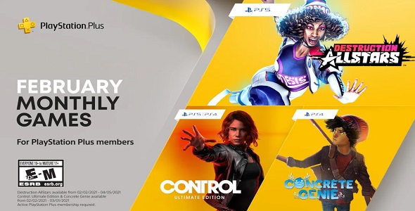 PS Plus – jeux gratuits du mois - le programme de février 2021