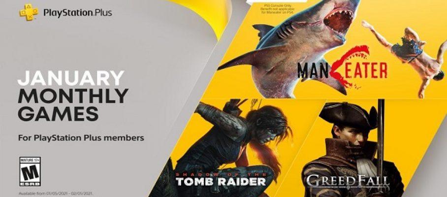 PS Plus – jeux gratuits du mois - le programme de janvier 2021