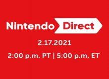 Nintendo Direct - 17-02-2021