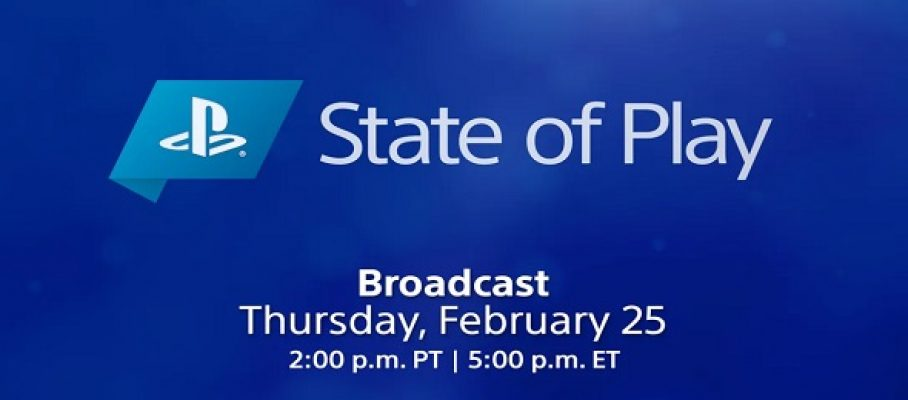 State Of Play - 25 février 2021