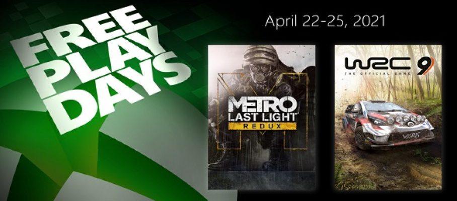 Free Play Days (22 au 25 avril 2021)