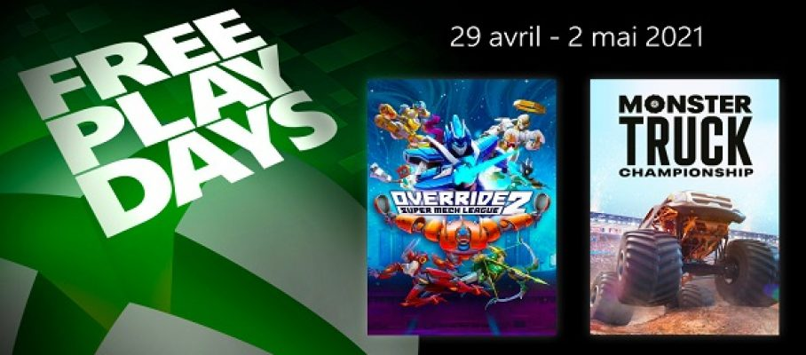 Free Play Days (29 avril au 02 mai 2021)