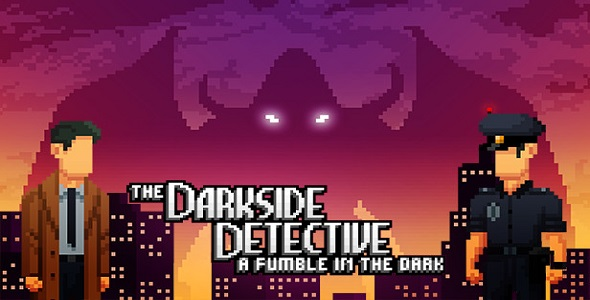 The Darkside Detective - A Fumble in the Dark