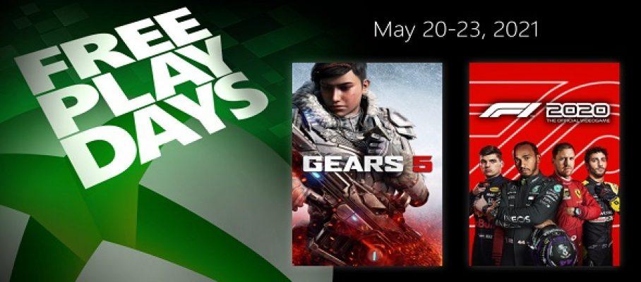Free Play Days (20 au 23 mai 2021)