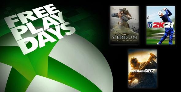 Free Play Days (17 au 20 juin 2021)