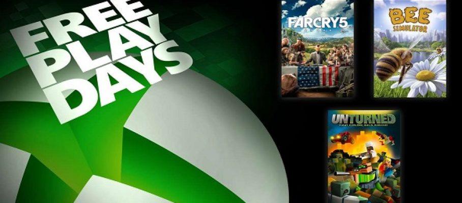 Free Play Days (05 au 08 août 2021)